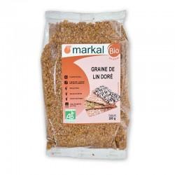 Graines de lin doré Markal 250g