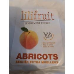 Abricots séchés extra moelleux Bio 70 g . Lilifruit.