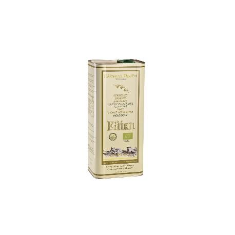 Huile d'olive BIO bidon métal  de 5L