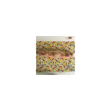 Wraps  XXL ou baguette emballage en cire d'abeille 65x36cm
