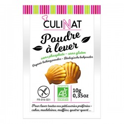 Poudre à lever s/phosphate s/gluten (8x10gr)