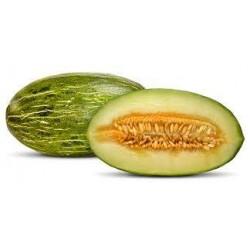 Melons verts vendus à la pièce