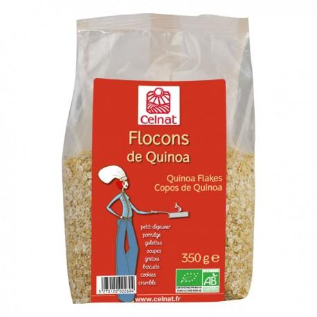 Flocons de quinoa bio - 350 g SALDAC