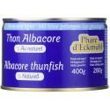 Thon albacore pêché canne au naturel 280g
