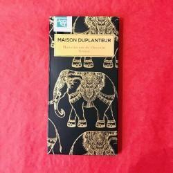 Tablette Chocolat Cru Pure Origine Sierra Léone 80%.  Duplanteur 70 G Bio