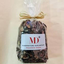 Infusion de Cacao . Sachet d'écorces de Fèves de Cacao Duplanteur 70 G Bio