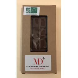 Tablette Chocolat au  lait de brebis 45% Sierra Léone .  Duplanteur 70 G Bio