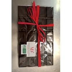 Maxi Tablette Chocolat noir 69 % Sierra Léone .  Duplanteur 500G Bio