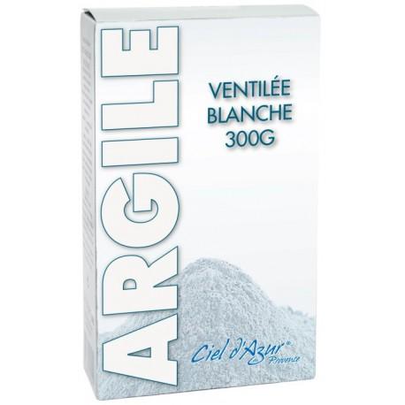 Argile blanche ventilée