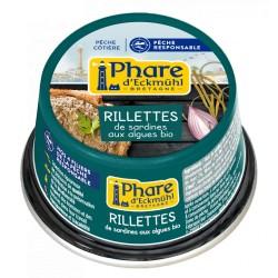 Rillette de sardines au tartare d'algues 120g