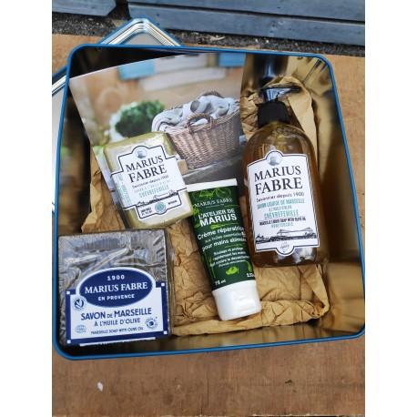 Coffret Marius Fabre : la savon qui vient de Marseille