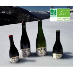 Bière La Sorcière Ambrée 5° bouteille 75cl Bio