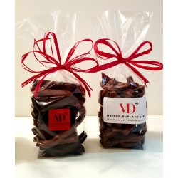 Sachet d'orangette au chocolat noir 100g  (DLC 1an) Duplanteur