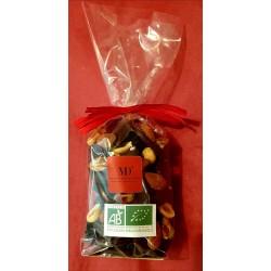 Sachet de Mendiants en chocolat noir Sierra Leone 69% 150 g (DLC 1an) Duplanteur