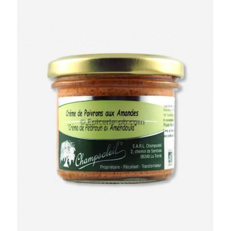 Champsoleil Crème de poivrons aux amandes  100g