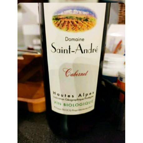 Vin rouge Cabernet Domaine Saint André 75cl Bio