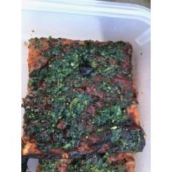 Pizza  aux Pleurotes de Grasse et persillade en part