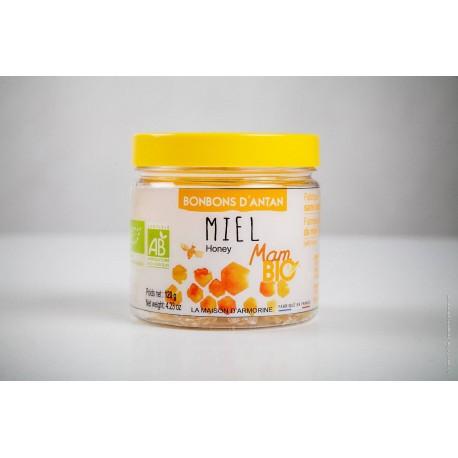 MAM BIO -Maison d'Armorine --Bonboniere miel Bio 120g