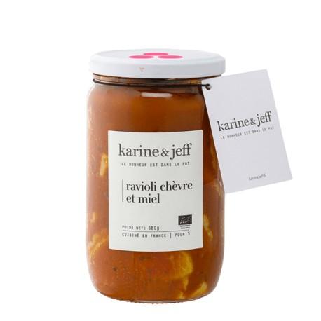 Karine et Jeff Raviolis chèvre et miel 680g