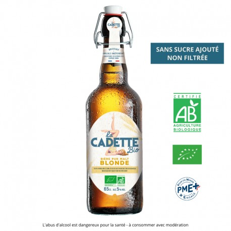 Bière Traditionnelle Blonde Jade 25cl