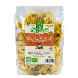 Lazzaretti Ruban au curcuma et autres épices - 250g