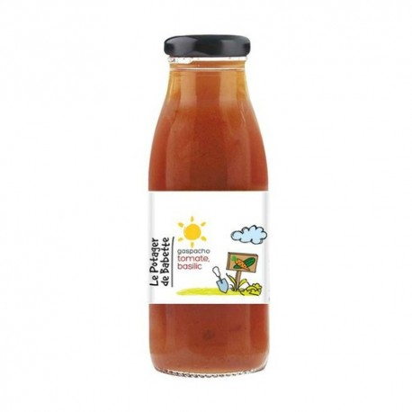 Le Potager de Babette -- Gaspacho bio tomate basilic - 6x750ml (familial)