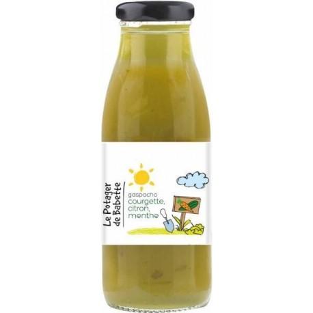 Le Potager de Babette -- Gaspacho bio courgette citron menthe - 6x490ml