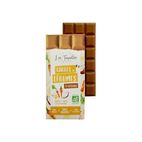 Les Toquettes -- Carotte curry coco gingembre bio - 75g