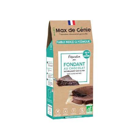 Max de Génie -- Préparation bio IG bas - Fondant chocolat sans gluten- 340g