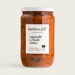 Karine & Jeff -- Ratatouille à l'huile d'olive 660g