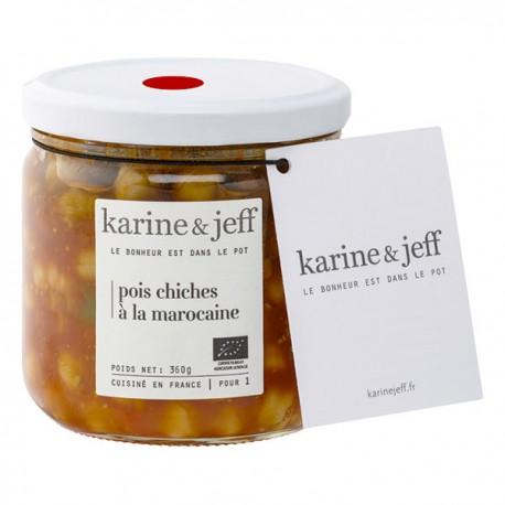 Karine & Jeff -- Pois chiches à la marocaine 360g