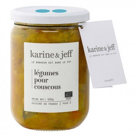 Karine & Jeff -- Légumes pour couscous 520g
