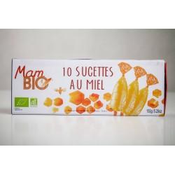 Mam bio (Maison d'Armorine) -- 10 sucettes au miel bio - étui 150g