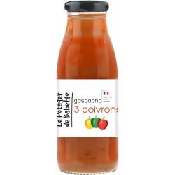 Le Potager de Babette -- Gaspacho bio 3 poivrons - 490ml