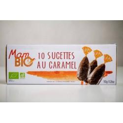 Mam bio (Maison d'Armorine) -- 10 sucettes caramel bio - étui 150g