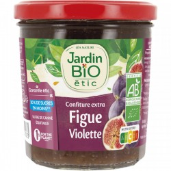 Confiture extra Figue violette Jardin Bio 320g