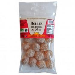 Sachet boules fourrées au miel bio 120g