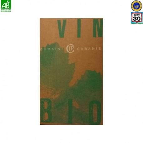Vin rouge Origine IGP Gard - BIB 5 litres