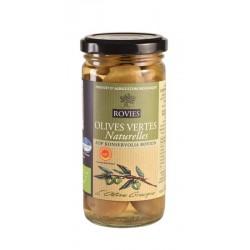Olives vertes  entieres AOC - Bio Bocal 240g