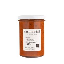 Karine & Jeff -- Sauce bruschetta aux légumes grillés 200g
