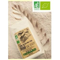 Farine de blé BIO type T.150 1 kg