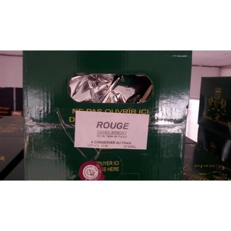 Vin Rouge du var en vrac par box de 5 litres