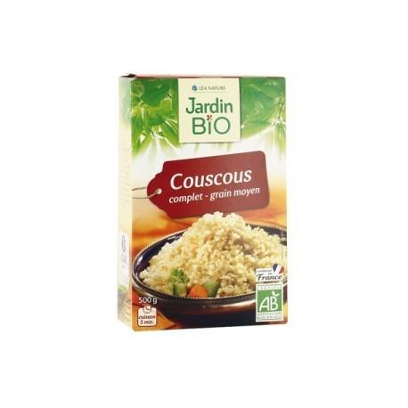 Couscous complet grain moyen  BIO 500g