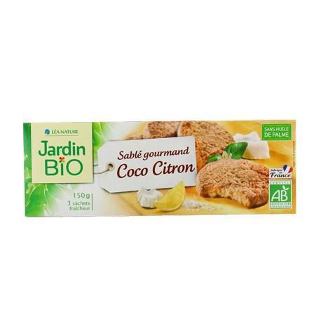 Sablé gourmand Coco Citron 150g