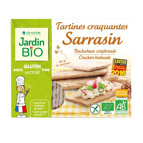 Tartines craquantes Sarrasin sans gluten 300 g