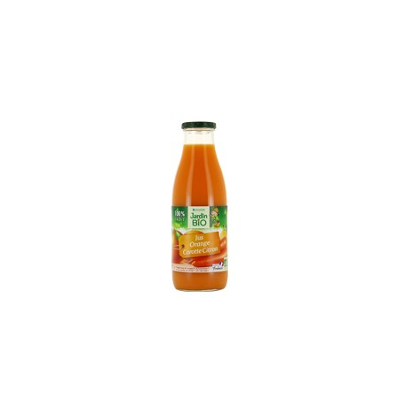 Jus d'orange carotte citron bio 75 cl
