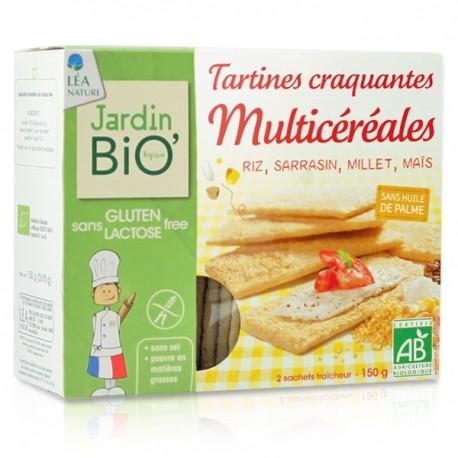 JB Tartines craquantes Multicéréales sans gluten 150g