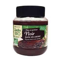 Pâte à tartiner Noir forte en cacao  350g