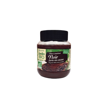 "Pâte à tartiner ""Noir"" forte en cacao  350g"