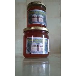 Miel de forêt du rucher du Peyloubier en pot